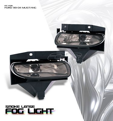 Ford Mustang 1999-2004 Smoked OEM Style Fog Lights