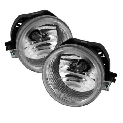 Chrysler Sebring Sedan 2007-2010 Clear OEM Style Fog Lights Kit