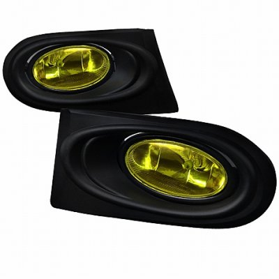 Acura RSX 2002-2004 Yellow Fog Lights Kit