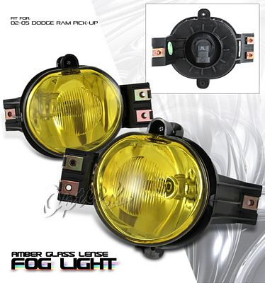 Dodge Ram 2002-2005 Yellow OEM Style Fog Lights Kit