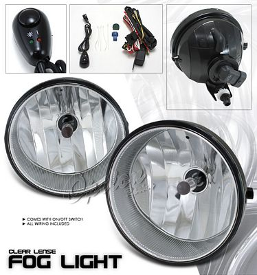 Toyota Tundra 2007 2017 Clear Oem Style Fog Lights Kit