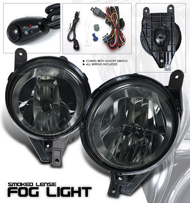 Lincoln Navigator 1998-2002 Smoked OEM Fog Lights Kit