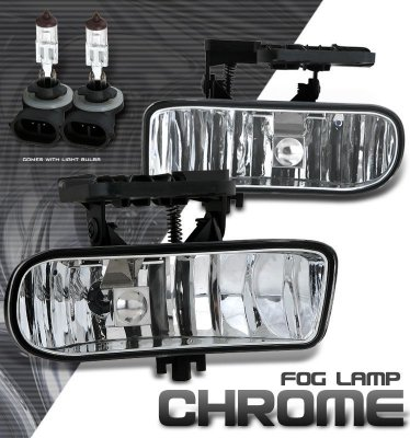 GMC Sierra 1999-2002 Clear Fog Lights