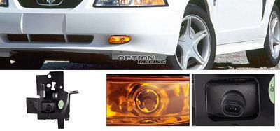 Ford Mustang 1994-1998 Amber OEM Style Fog Lights Kit