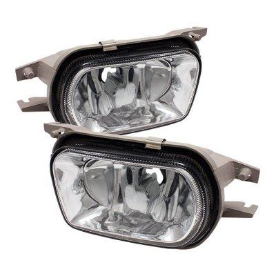 Mercedes Benz SLK 2001-2004 Clear OEM Style Fog Lights