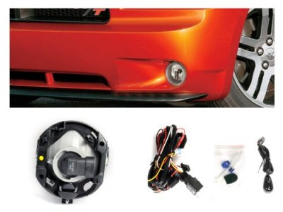 Dodge Caliber 2007-2012 Clear OEM Style Fog Lights