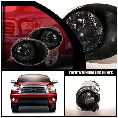 Toyota Tundra 2007-2013 Smoked OEM Style Fog Lights