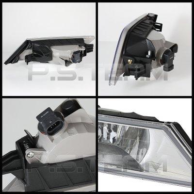 Honda Odyssey 2011-2013 Clear OEM Style Fog Lights