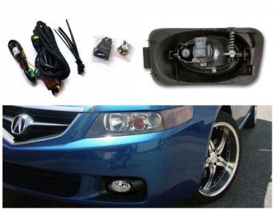 Acura TSX 2004-2005 Clear Fog Lights Kit