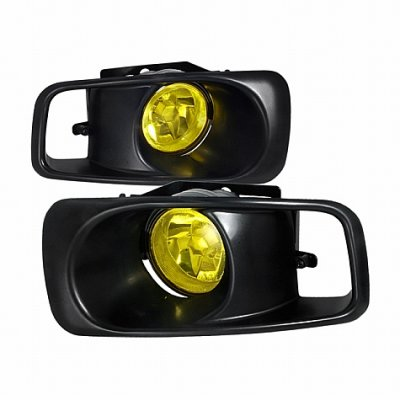 Honda Civic 1999-2000 Yellow Fog Lights Kit