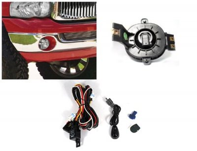 Dodge Ram 2002-2008 Clear Fog Lights Kit
