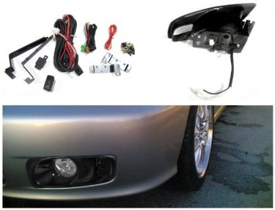 Honda Civic 1999-2000 Clear Fog Lights Kit