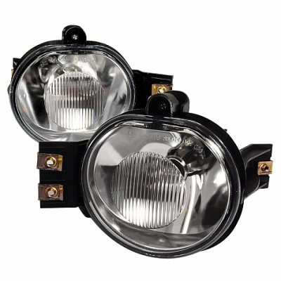 dodge ram 2500 2003 2009 clear fog lights kit. Black Bedroom Furniture Sets. Home Design Ideas