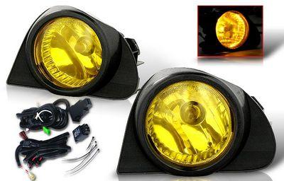 Toyota Echo 2003 2005 Yellow Oem Style Fog Lights Kit