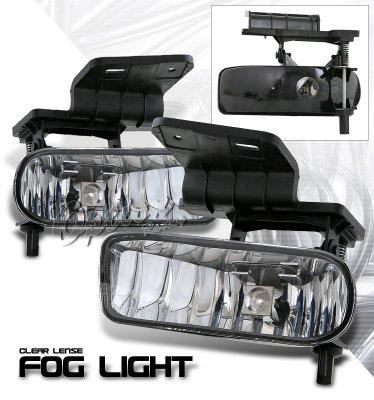 Chevy Silverado 1999 2002 Clear Fog Lights A124re2n103 Topgearautosport