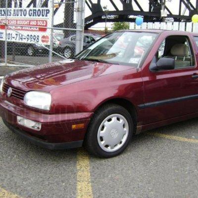 VW Golf 1993-1998 Clear OEM Style Fog Lights