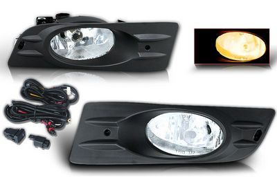 Honda Accord Coupe 2006-2007 Fog Lights Kit Clear OEM Style