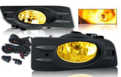 Honda Accord Coupe 2006-2007 Yellow OEM Style Fog Lights Kit