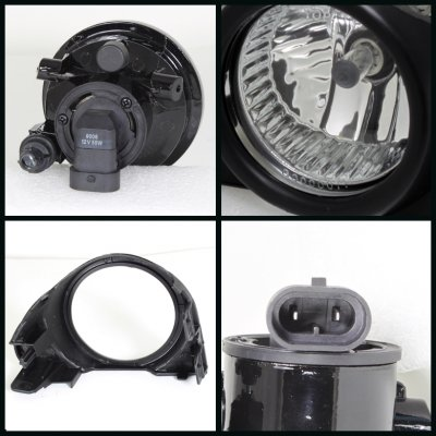 Toyota Prius 2004-2009 Clear OEM Style Fog Lights Kit