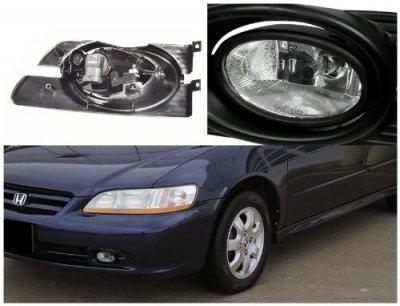 Honda Accord Sedan 2001-2002 Clear Fog Lights Kit
