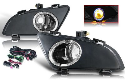 Mazda 6 2003-2005 Smoked Halo OEM Style Fog Lights Kit
