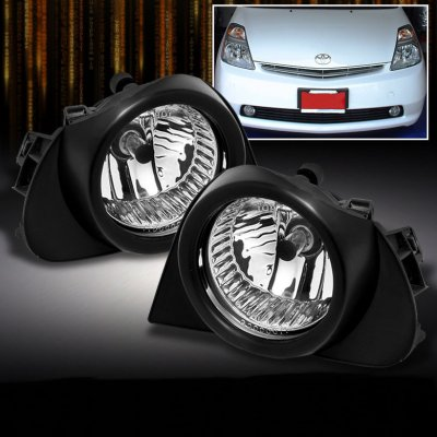 Toyota Prius 2004 2009 Clear Oem Style Fog Lights Kit