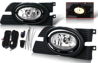 Honda Accord Sedan 2001-2002 Smoked Fog Lights Kit