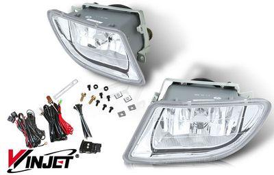Honda Odyssey 2003 2004 Clear Oem Style Fog Lights Kit
