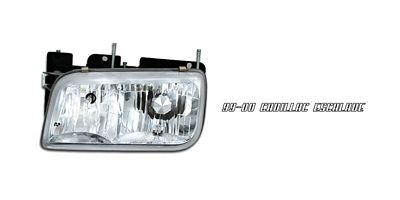 GMC Yukon Denali 1999-2000 Left Driver Side Replacement Headlight