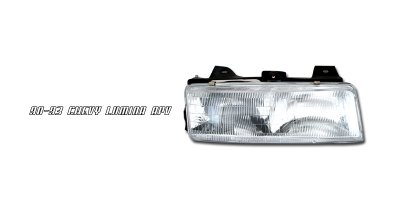Chevy Lumina 1990-1993 Right Passenger Side Replacement Headlight