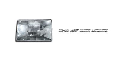 Jeep Grand Cherokee 1996-1998 Left Driver Side Replacement Headlight
