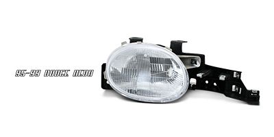 Dodge Neon 1995-1999 Right Passenger Side Replacement Headlight
