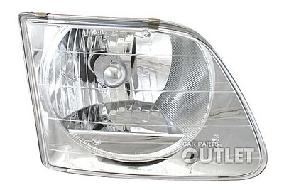 Ford F250 Light Duty 1997-1999 Right Passenger Side Replacement Headlight