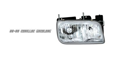 Cadillac Escalade 1999-2000 Right Passenger Side Replacement Headlight