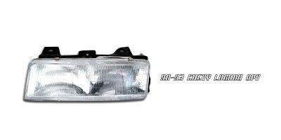 Chevy Lumina Van 1990-1993 Left Driver Side Replacement Headlight