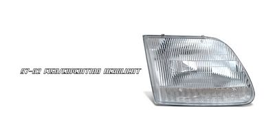 Ford Expedition 1997-2002 Right Passenger Side Replacement Headlight