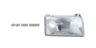 Ford F250 1992-1996 Right Passenger Side Replacement Headlight