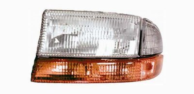 Q on 2000 Dodge Dakota Sport Headlights