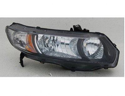 Honda Civic Coupe 2006 2008 Right Penger Side Replacement Headlight A128o3r5104 Topgearautosport