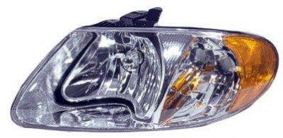 Dodge Caravan 2001-2007 Left Driver Side Replacement Headlight