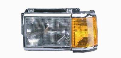 Ford F350 1987 1991 Left Driver Side Replacement Headlight