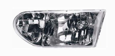 2000 Nissan Quest Left Driver Side Replacement Headlight