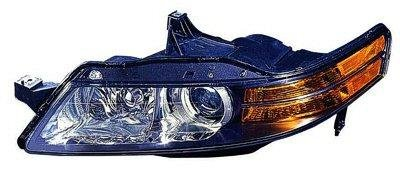 Acura TL Left Driver Side Replacement Headlight AKE - 2006 acura tl headlights