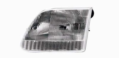 Ford F250 Light Duty 1997-2003 Left Driver Side Replacement Headlight