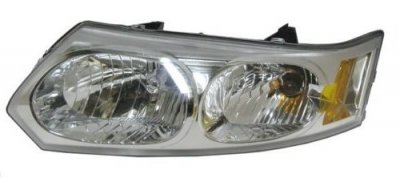 2003 Saturn lon Sedan Left Driver Side Replacement Headlight