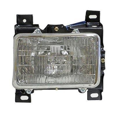 Chevy S10 1994 1997 Right Penger Side Replacement Headlight A128v0z0104 Topgearautosport