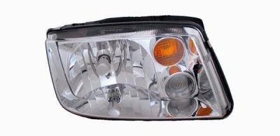 Vw Jetta 1999 2002 Right Penger Side Replacement Headlight