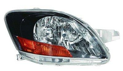 Toyota Yaris Sedan 2007 2009 Right Penger Side Replacement Headlight