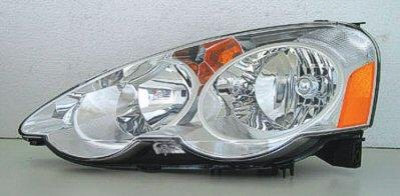 Acura RSX 2002-2004 Left Driver Side Replacement Headlight