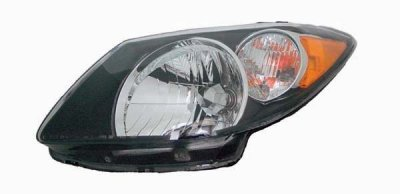 Pontiac Vibe 2003 2004 Left Driver Side Replacement Headlight